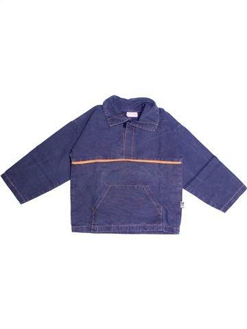 Chemise manches longues garçon SUCRE D'ORGE bleu 6 ans hiver #1267185_1