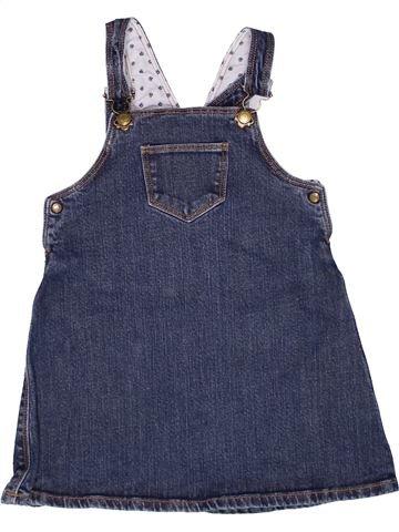 Vestido niña PETIT BATEAU azul 3 años verano #1267235_1