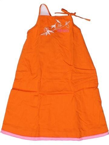 Robe fille KENZO orange 2 ans été #1267255_1
