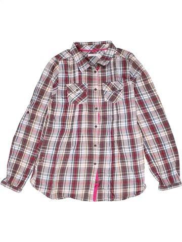 Blusa de manga larga niña OKAIDI violeta 12 años invierno #1267388_1