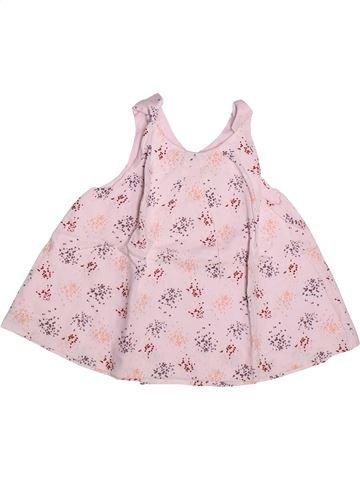 Blusa de manga corta niña MARÈSE rosa 4 años verano #1267782_1