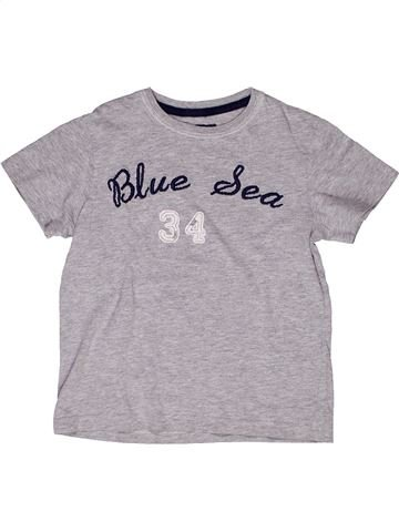 T-shirt manches courtes garçon CFK gris 4 ans été #1267906_1