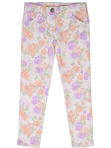 Pantalon fille MATALAN violet 7 ans été #1267945_1
