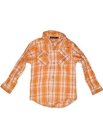 Chemise manches longues garçon TOUT COMPTE FAIT orange 8 ans hiver #1267968_1