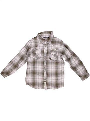 Camisa de manga larga niño TOUT COMPTE FAIT gris 8 años invierno #1267978_1