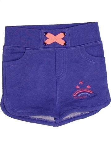 Short-Bermudas niña CATIMINI violeta 2 años verano #1267989_1