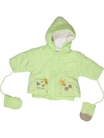 Manteau garçon ALPHABET vert 3 mois hiver #1268180_1