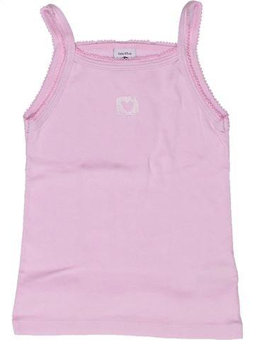 T-shirt sans manches fille PETIT BATEAU rose 3 ans été #1268303_1