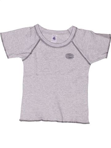 Camiseta de manga corta unisex PETIT BATEAU blanco 4 años verano #1268325_1