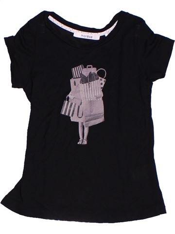 Camiseta de manga corta niña MARÈSE negro 4 años verano #1268466_1