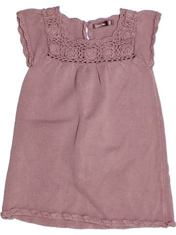 Robe fille BOUT'CHOU rose 2 ans hiver #1268559_1