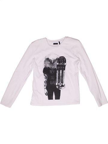 Camiseta de manga larga unisex IKKS blanco 12 años invierno #1268811_1