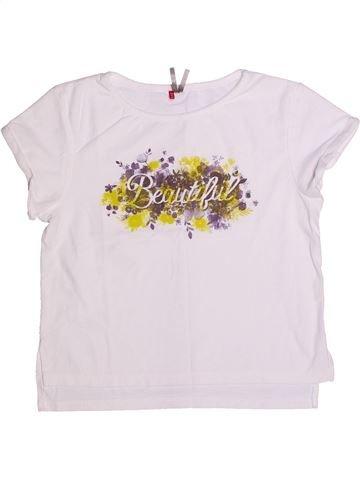 T-shirt manches courtes fille ORCHESTRA blanc 10 ans été #1268937_1