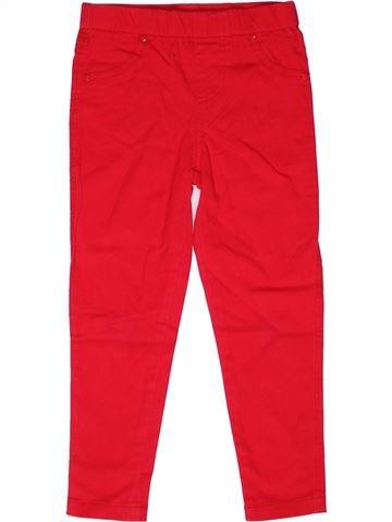 Pantalon fille DUNNES STORES rouge 2 ans été #1268975_1