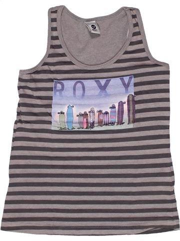 T-shirt sans manches fille ROXY gris 8 ans été #1269083_1