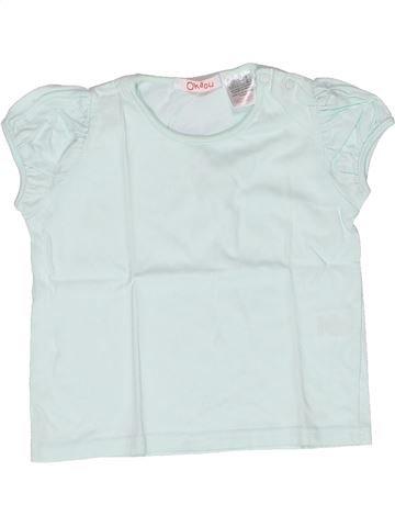 T-shirt manches courtes fille LA REDOUTE CRÉATION bleu 2 ans été #1269111_1