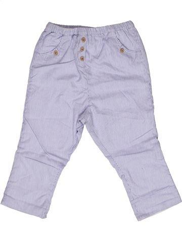 Pantalón niño CYRILLUS blanco 2 años verano #1269311_1