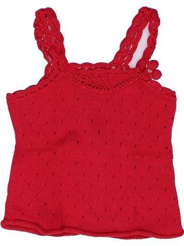 Camiseta sin mangas niña JEAN BOURGET rojo 2 años verano #1269337_1