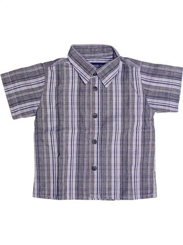 Chemise manches courtes garçon ORCHESTRA gris 3 ans été #1269384_1