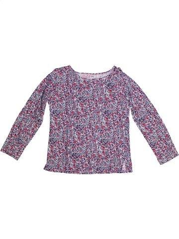 T-shirt manches longues fille MONOPRIX gris 8 ans hiver #1269392_1
