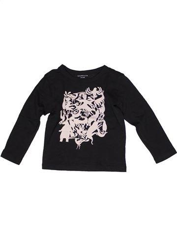 Camiseta de manga larga niño MONOPRIX negro 4 años invierno #1269433_1
