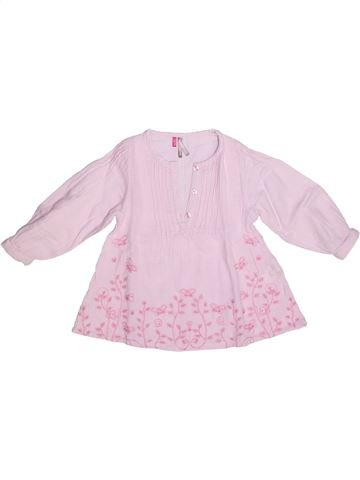 Blouse manches longues fille ORCHESTRA rose 2 ans hiver #1269438_1