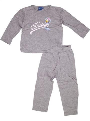 Pijama de 2 piezas niña DISNEY gris 6 años invierno #1269463_1