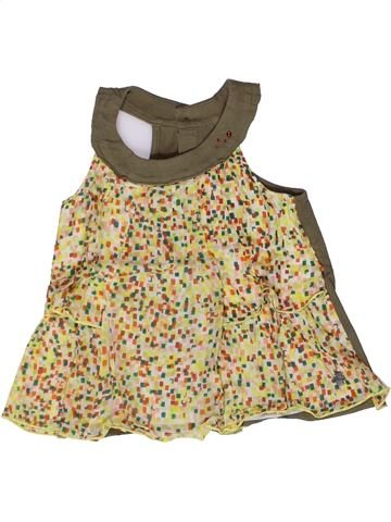 T-shirt sans manches fille JEAN BOURGET beige 3 ans été #1269551_1