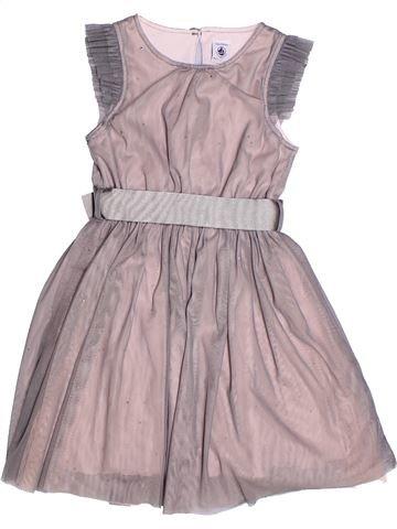 Vestido niña PETIT BATEAU violeta 5 años verano #1269592_1