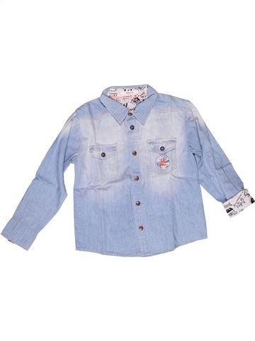 Camisa de manga larga niño MARÈSE gris 6 años invierno #1269615_1