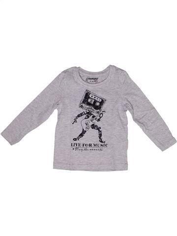 Camiseta de manga larga niño ORCHESTRA gris 2 años invierno #1269748_1