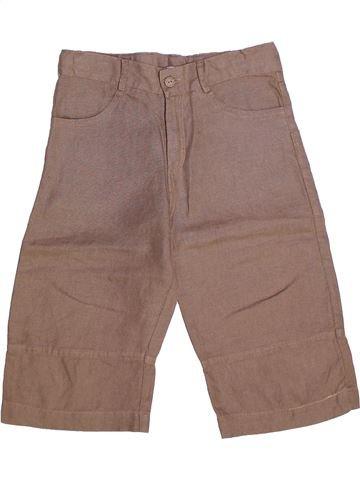 Pantalón corto niño CLAYEUX marrón 10 años verano #1269769_1