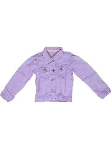 Veste fille LH BY LA HALLE violet 3 ans été #1269771_1