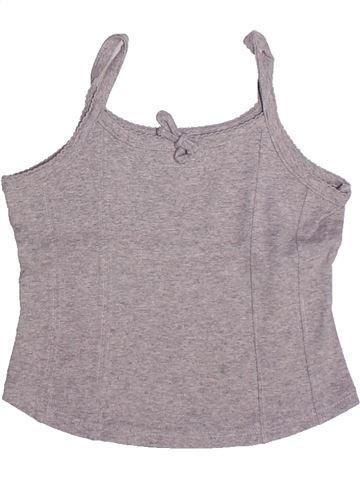 T-shirt sans manches fille CYRILLUS violet 4 ans été #1269810_1