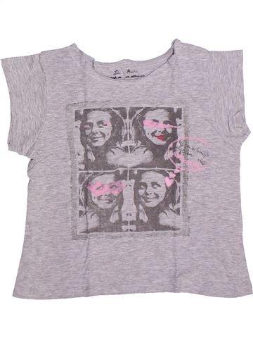 Camiseta de manga corta niña LISA ROSE gris 10 años verano #1270037_1
