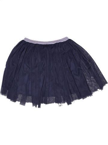 Falda niña PETIT BATEAU azul 12 años invierno #1270148_1