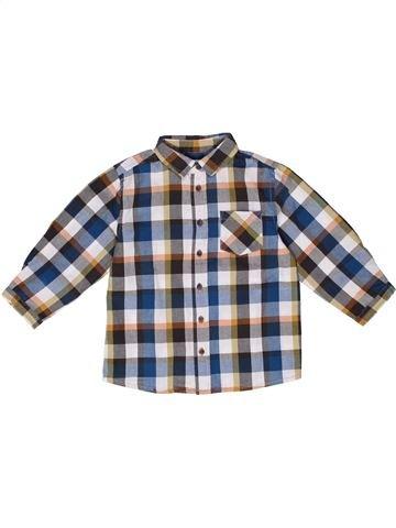 Camisa de manga larga niño BOUT'CHOU gris 2 años invierno #1270211_1