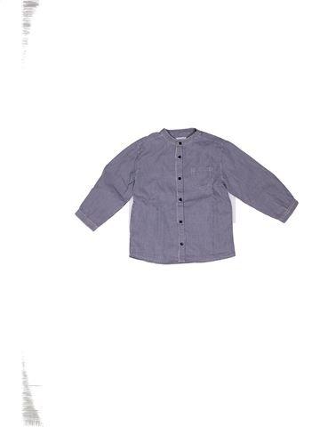 Camisa de manga larga niño BOUT'CHOU gris 3 años invierno #1270213_1