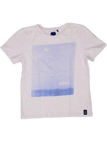 Camiseta de manga corta niño IKKS blanco 12 años verano #1270382_1