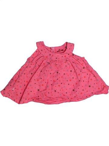 Blusa de manga corta niña CATIMINI rosa 2 años verano #1270401_1