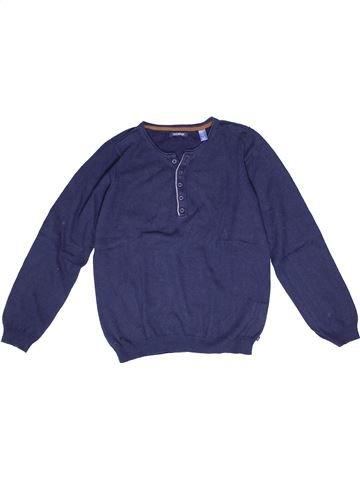 jersey niño OKAIDI azul 12 años invierno #1270522_1