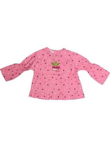 Blusa de manga larga niña LA COMPAGNIE DES PETITS rosa 2 años invierno #1270539_1