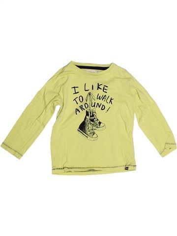 T-shirt manches longues garçon NOPPIES vert 2 ans hiver #1270582_1