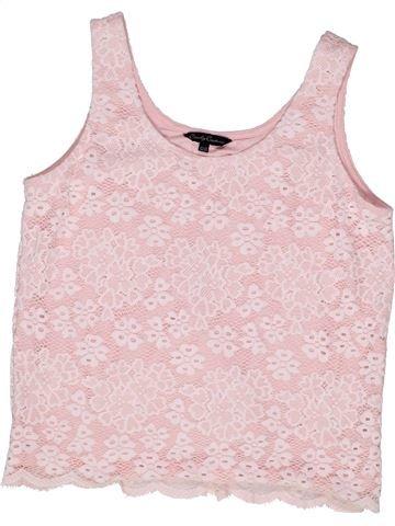 Camiseta sin mangas niña CANDY COUTURE rosa 13 años verano #1270849_1