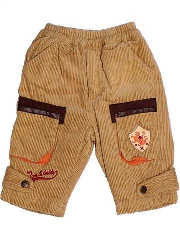 Pantalon garçon TOM ET KIDDY marron 6 mois hiver #1270873_1