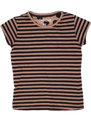 T-shirt manches courtes fille FABULOUS marron 11 ans été #1270904_1