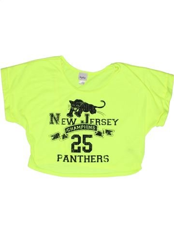 T-shirt manches courtes fille KYLIE vert 13 ans été #1270933_1