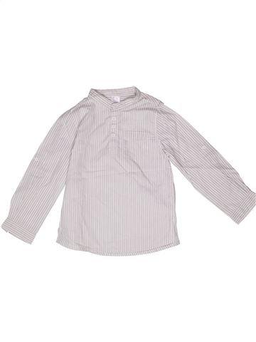 Chemise manches longues garçon LA REDOUTE CRÉATION blanc 6 ans hiver #1271051_1