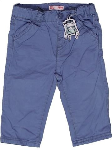 Pantalon garçon DPAM bleu 6 mois été #1271063_1