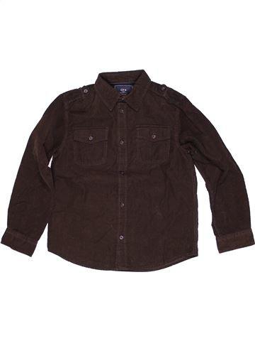 Camisa de manga larga niño CFK marrón 8 años invierno #1271242_1